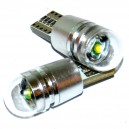 LED žárovka T10 W5W - Bílá (1 LED GREE XPE) 12V CAN-BUS, CFR91184
